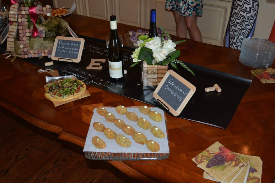 couples bridal shower,  chalkboard signs, wine themed bridal shower,hand lettering, Lettering Art Studio, Debi Sementelli