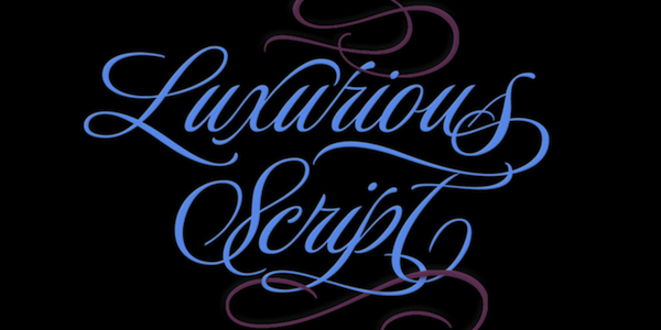 Post image for 25% off Luxurious Script by Rob Leuschke